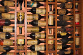 Old Rioja Wine bottles — Stock Photo