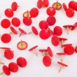 Thumbtacks — Stock Photo