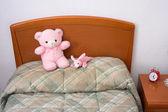 Barn sovrum — Stockfoto