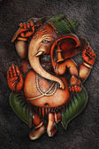 Ganesha made with clay — Stock Photo