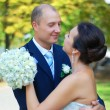 Newlyweds — Stock Photo