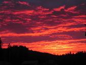 Sky on Fire — Stockfoto