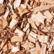 Woodchips full frame — Stock Photo