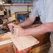 Routing plane carpentry — Stock Photo