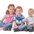 Group of happy smiling kids — Stock Photo