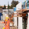 Residential construction site building - Stock Photo