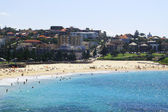 Coogee beach in Sydney in summer — Stock Photo