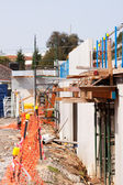 Residential construction site building — Stock Photo