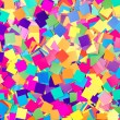 Colorful background of paper confetti — Stock Photo
