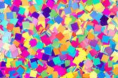Colorful background of paper confetti — Stock Photo