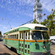 Stock Photo: Trolley at Marketplace