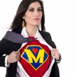 Stock Photo: Super Mom
