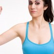 Resistance Workout — Stock Photo