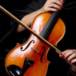 Royalty-Free Stock Photo: Violinist