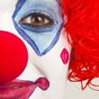 Half Clown — Stock Photo #12412307