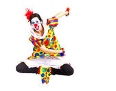 Färg clown — Stockfoto