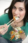 Sushi Lunch — Stock Photo
