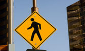 Pedestrian Crossing — Stock Photo