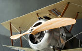 Sopwith Camel Winged Military Gunned Airplane World War Two — Stock Photo