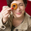 Onion Ring Eye — Stock Photo #12848391