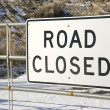 Road Closed Sign — Stock Photo #13545631