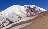 Mt. rainier z góry burroughs — Zdjęcie stockowe
