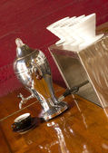 Vintage Coffee Maker — Stock Photo