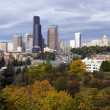 Seattle Panoramic — Stock Photo