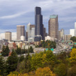 Seattle in the Fall — Stock Photo