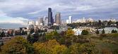 Panorâmica de Seattle — Fotografia Stock