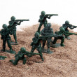 Stock Photo: Army Men