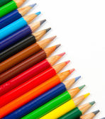 Colored Lead Pencils Artist Creation Tools Art Supplies — Stock Photo