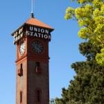 Union Station Portland Downtown Train Depot Railroad Transportation — Stock Photo