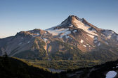 Mt Jefferson Cascade Mountain Range Oregon State North America — Stock Photo