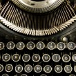 Vintage Typewriter Keyboard Close Up — Stock Photo #16241767