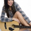 Female Musician - Stockfoto