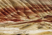 The Geology in Painted Hills Oregon State — Stock Photo