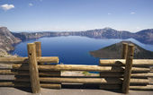 Crater Lake Caldera National Park Oregon USA — Stock Photo