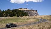 Perua na estrada nos Estados Unidos oeste — Fotografia Stock