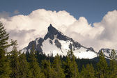 Big Cowhorn Mt. Thielsen Extinct Volcano Oregon Cascade Range — Stock Photo