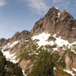 Rugged Jagged Peak North Cascade Mountain Range Washington State — Foto de Stock