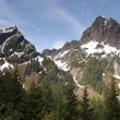 North Cascades High Alpine Ridge Mountain Rugged Northwest — Foto Stock