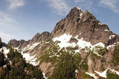 Rugged Jagged Peak North Cascade Mountain Range Washington State — Stock Photo