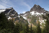 North Cascades High Alpine Ridge Mountain Rugged Northwest — Stock Photo