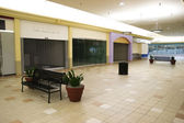 Retail Wasteland Empty Strip Mall Vacant Space Real Estate Recession — Stock Photo