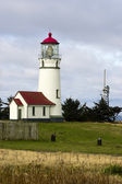 Cape Blanco Lighthouse Pacific Coast Headland Oregon United States — Stock Photo