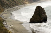 Rock Bluff Oregon State Scenic Landscape Pacific Ocean Coastal Beach — Stock Photo