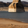 Rock Butte Formation Lake Powell Colorado River Utah United States — Stock Photo