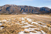 Highway 93 Great Basin HWY Cuts into Nevada Mountain Landscape — Stock Photo