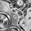 Stock Photo: Vintage Watch Pocketwatch Time Piece Movement Gears Cogs